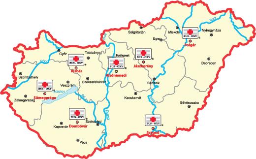 alsónémedi térkép Bus Oxy alsónémedi térkép
